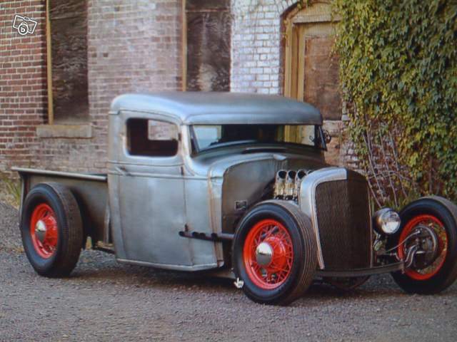 Hot rod chevy pick up 1935 Chev3510