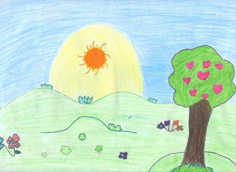 بعض رسومات إحدى طالبات الصف الثانى الإعدادى Israa311