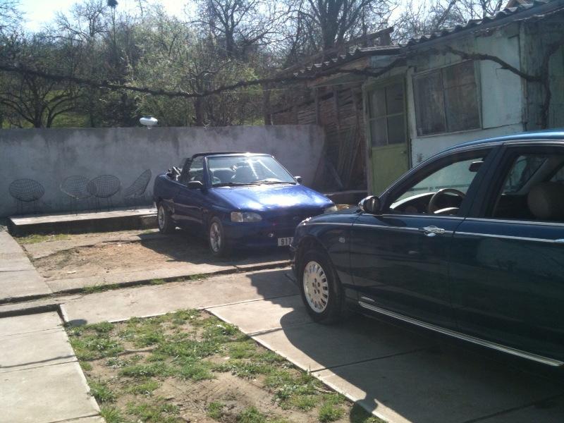 Notre ancienne escort cabriolet Photo16
