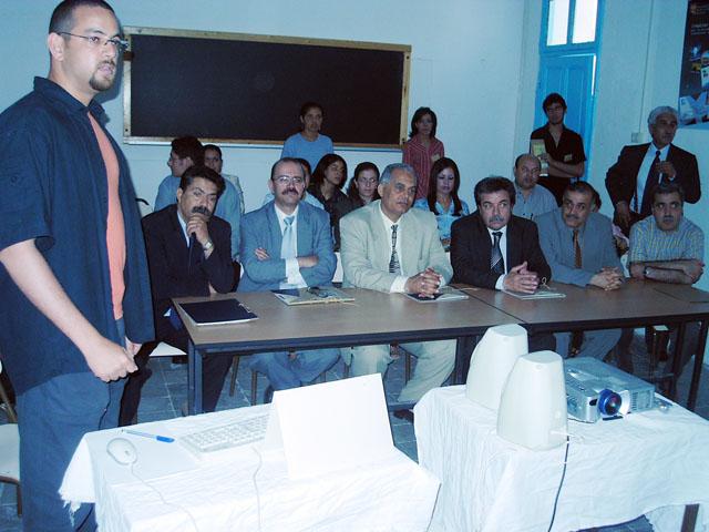 ملتقى الشراكة والتعاون بين المؤسسات الجامعية والاقتصادية 2004 (isamk) Moltq210
