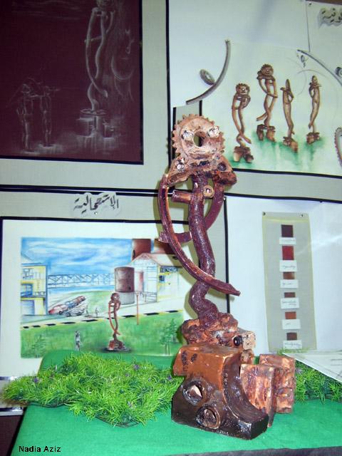 من أعمال السنة الثالثة خزف 2008-09 Céramique Xl800115