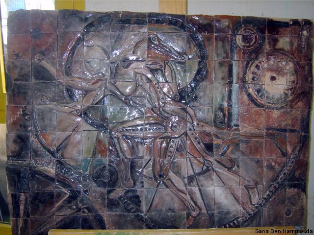 من أعمال السنة الثالثة خزف 2008-09 Céramique Xl800210
