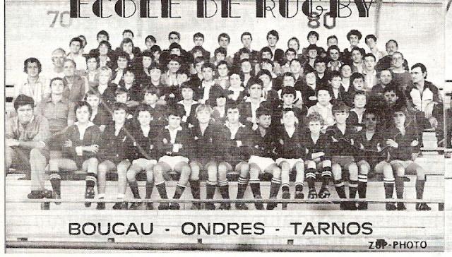 Photos Ecole De Rugby..... D'hier à aujourd'hui. 1979_a10