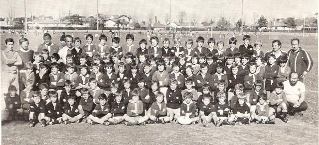 Photos Ecole De Rugby..... D'hier à aujourd'hui. 198110
