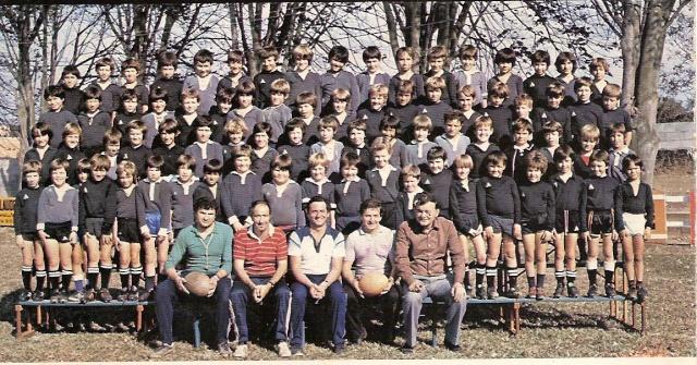 Photos Ecole De Rugby..... D'hier à aujourd'hui. 1982_a10
