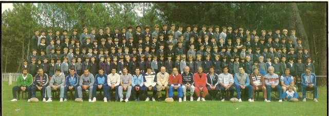 Photos Ecole De Rugby..... D'hier à aujourd'hui. 198510