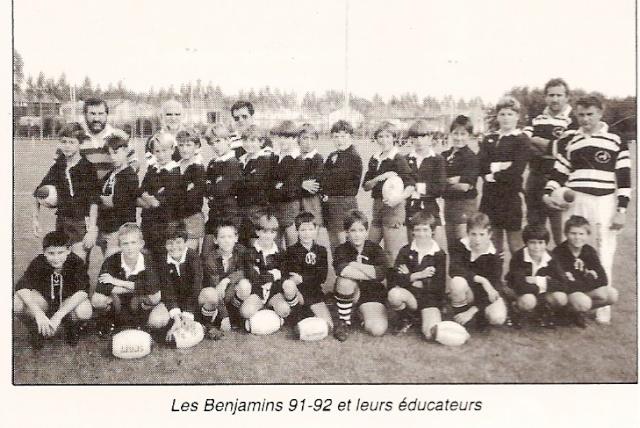 Photos Ecole De Rugby..... D'hier à aujourd'hui. 1992_a11