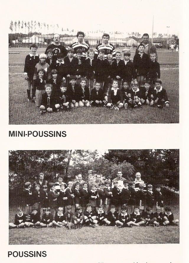 Photos Ecole De Rugby..... D'hier à aujourd'hui. 1992_b10