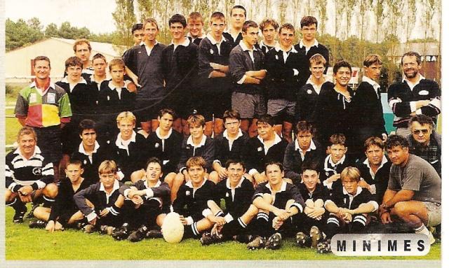 Photos Ecole De Rugby..... D'hier à aujourd'hui. 1996_a10