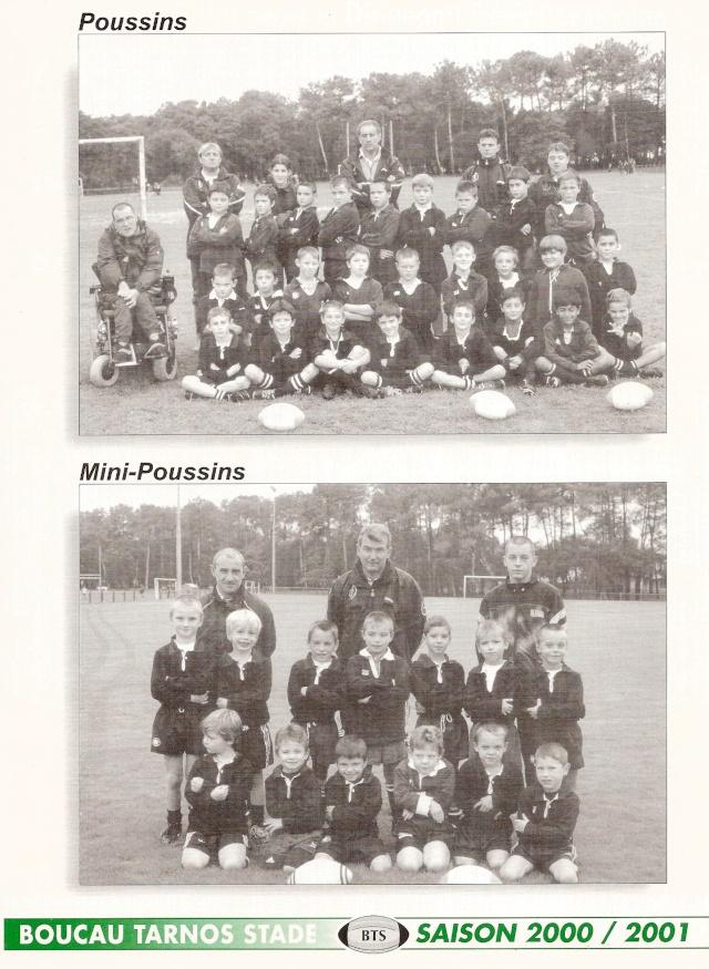 Photos Ecole De Rugby..... D'hier à aujourd'hui. 2001_b10