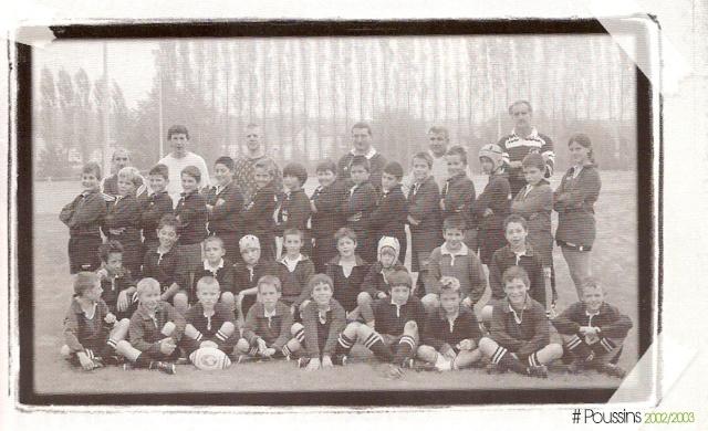 Photos Ecole De Rugby..... D'hier à aujourd'hui. 2003_b10