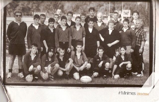 Photos Ecole De Rugby..... D'hier à aujourd'hui. 2004_c10