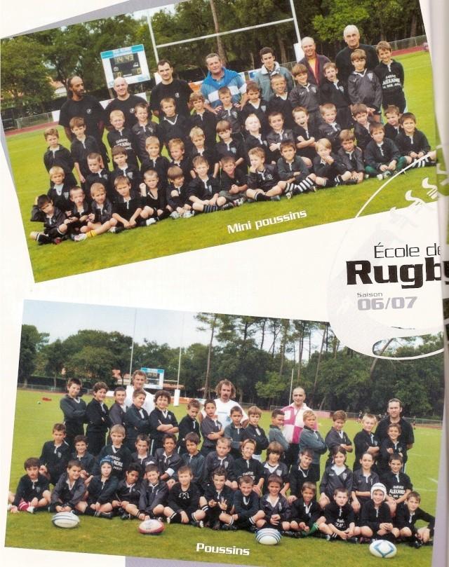 Photos Ecole De Rugby..... D'hier à aujourd'hui. 2007_a10
