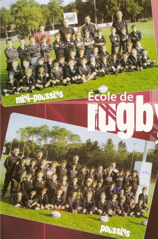 Photos Ecole De Rugby..... D'hier à aujourd'hui. 2008_a10