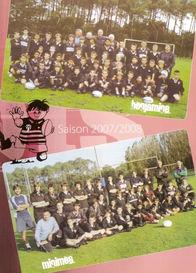 Photos Ecole De Rugby..... D'hier à aujourd'hui. 2008_b10