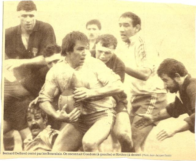 Saison 1984/85 (dernier 16ème de Finale de 1ère Division) Agen_b13