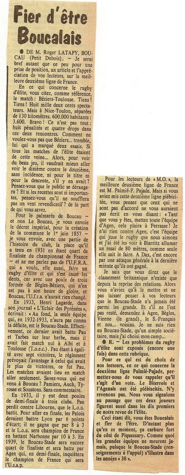 Saison 1984/85 (dernier 16ème de Finale de 1ère Division) - Page 2 Articl10