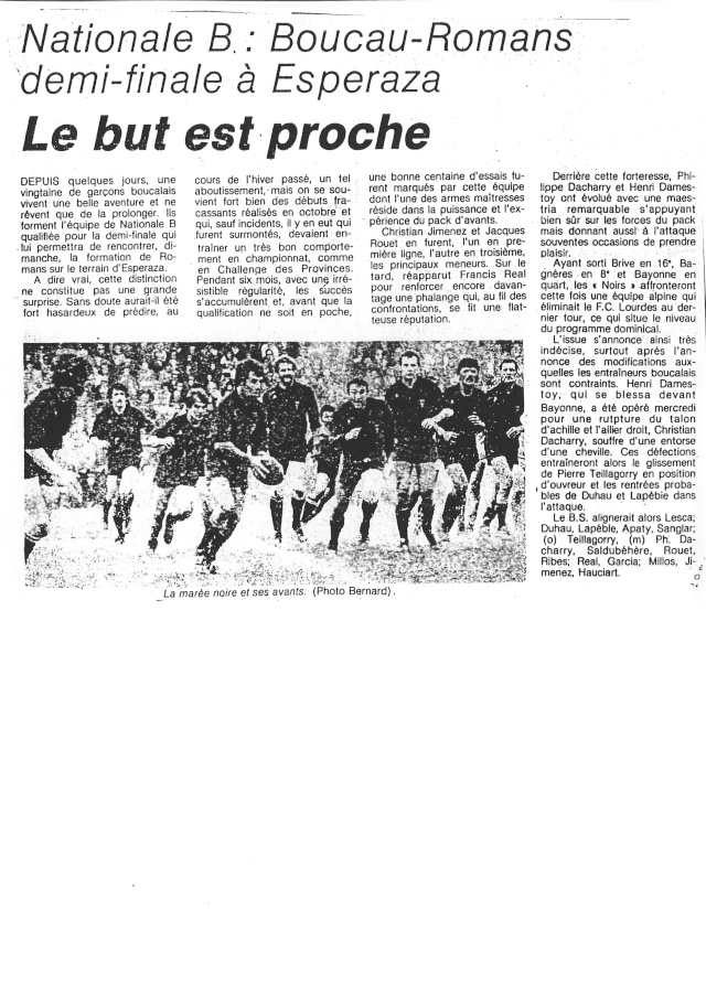 1982... La Nationale B, Champion de France Articl23
