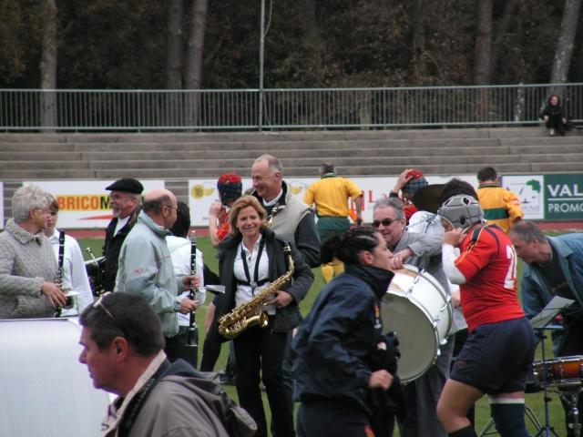FRANCE-ESPAGNE à Tarnos. Avril126