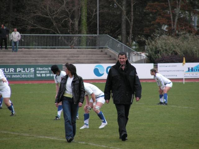 FRANCE-ESPAGNE à Tarnos. Avril127