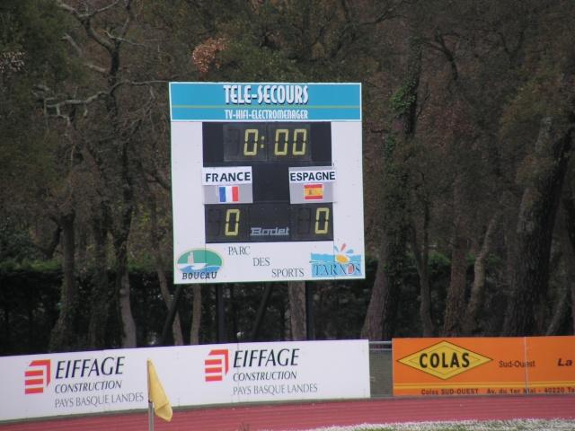 FRANCE-ESPAGNE à Tarnos. Avril128