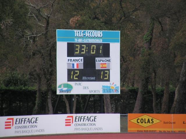 FRANCE-ESPAGNE à Tarnos. Avril156