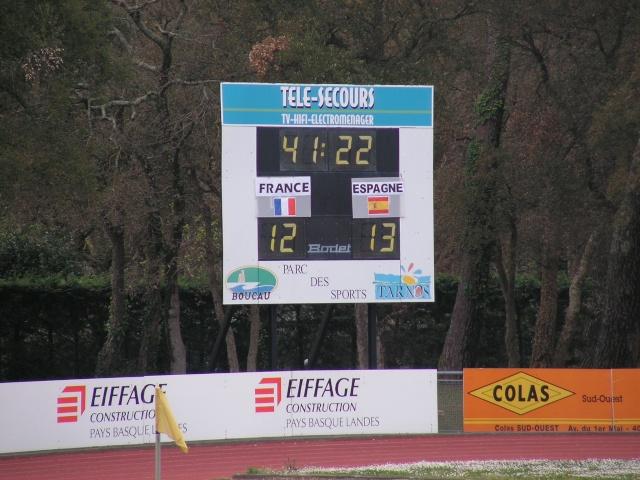 FRANCE-ESPAGNE à Tarnos. Avril162