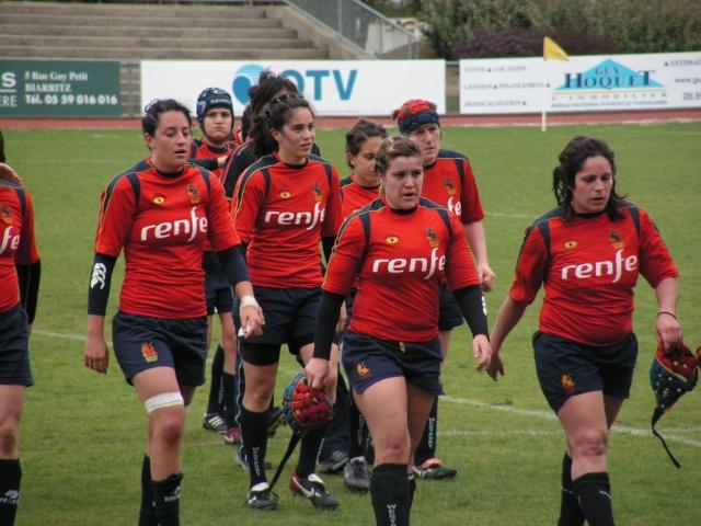FRANCE-ESPAGNE à Tarnos. Avril163