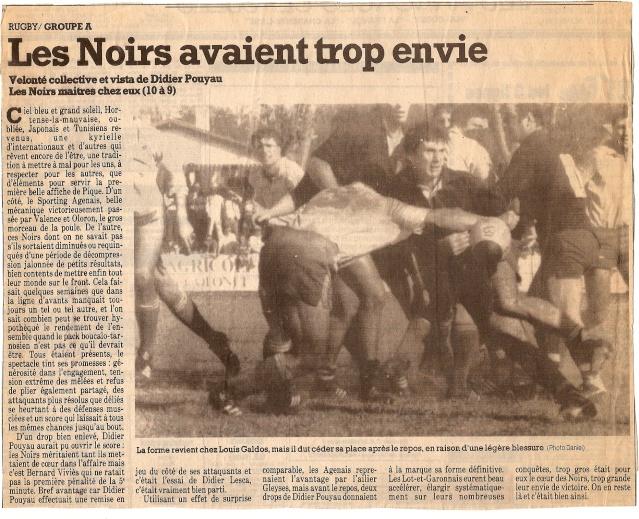 Saison 1984/85 (dernier 16ème de Finale de 1ère Division) Bs_age12