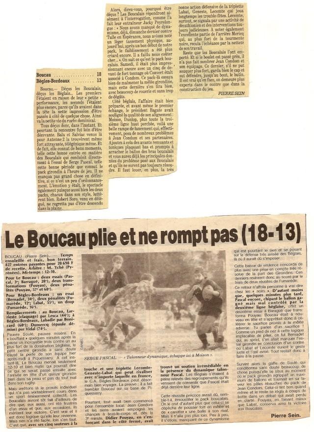 Saison 1984/85 (dernier 16ème de Finale de 1ère Division) Bs_bag11