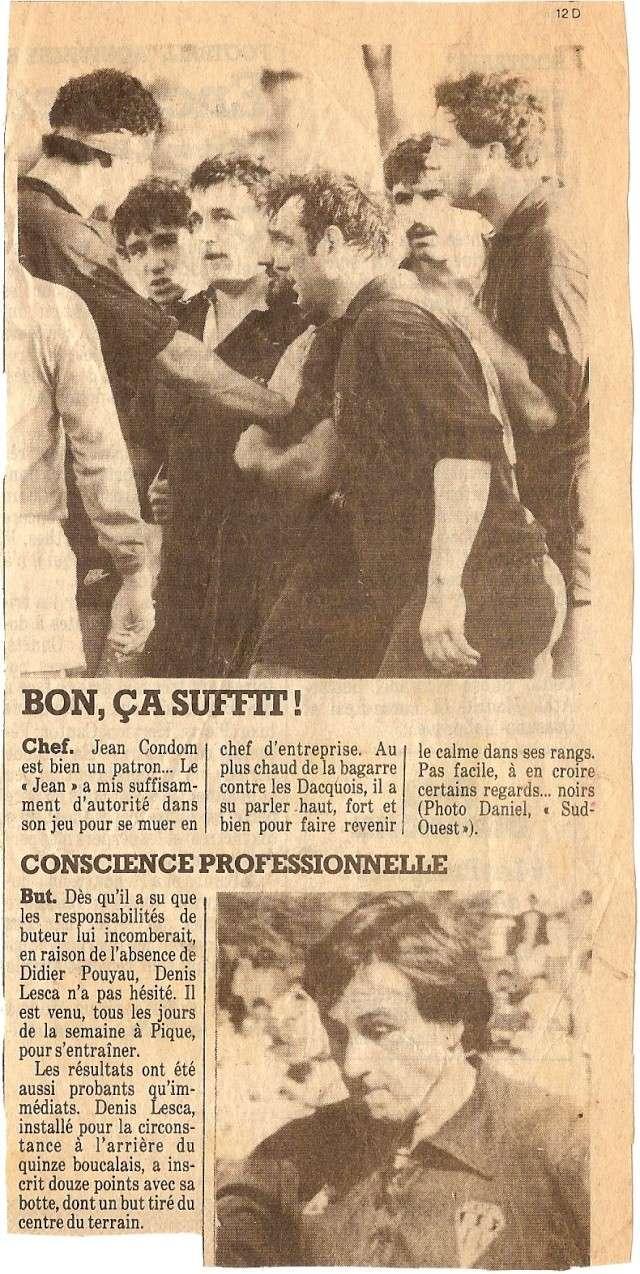 Saison 1984/85 (dernier 16ème de Finale de 1ère Division) Bs_dax15
