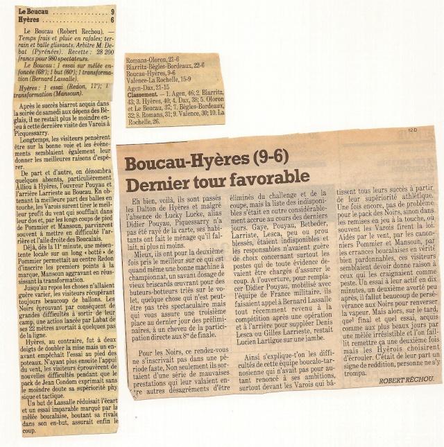 Saison 1984/85 (dernier 16ème de Finale de 1ère Division) Bs_hya11