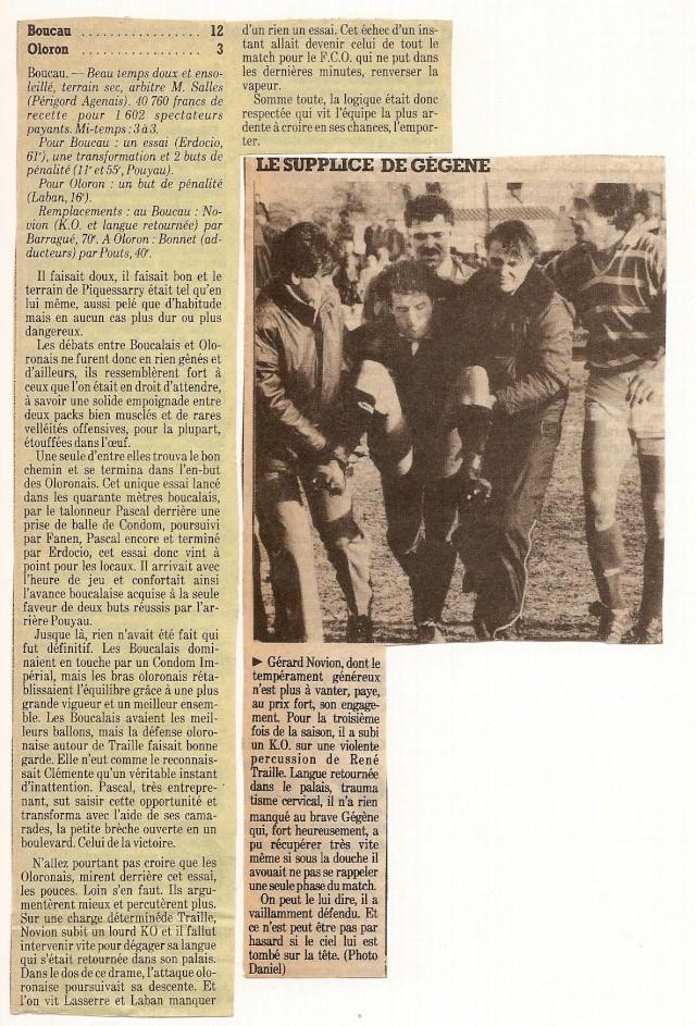 Saison 1984/85 (dernier 16ème de Finale de 1ère Division) Bs_olo11