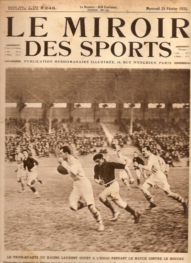 """1925... Quand le BS faisait la 1ère page du """"Miroir des Sports"""" Bs_rcf10"""
