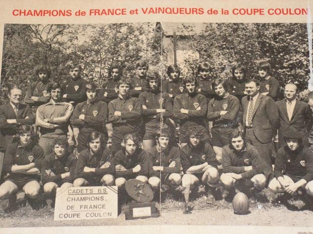 Les cadets de 1972.... Champion de France Champi11