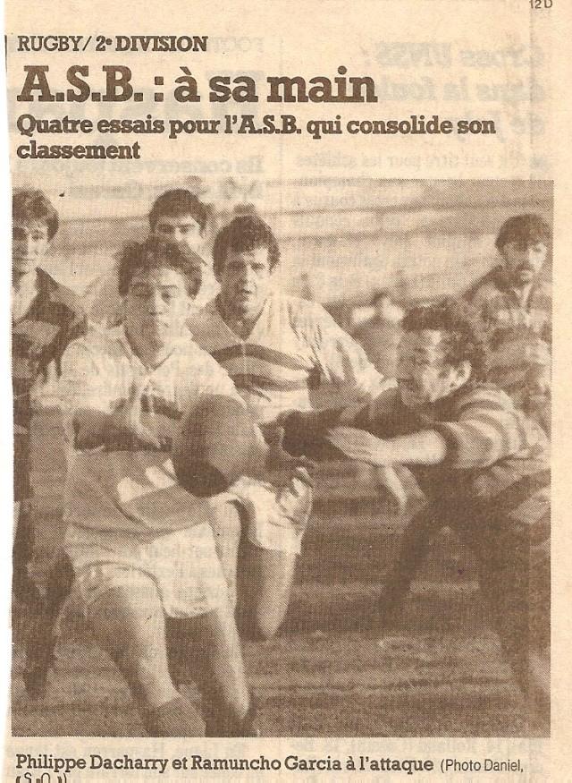 Nouveau duo d'entraineurs pour la Première: JM Dicharry, Ph. Dacharry. - Page 3 Dachar12