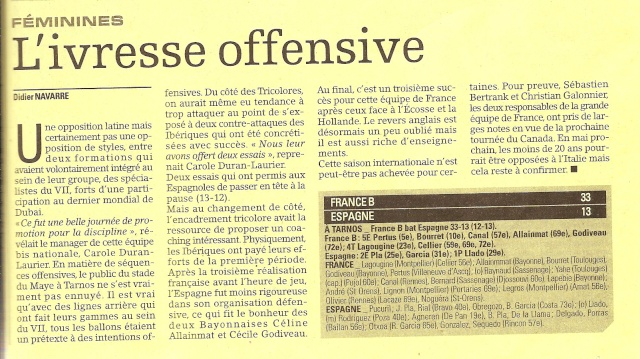 FRANCE-ESPAGNE à Tarnos. Fra_es11