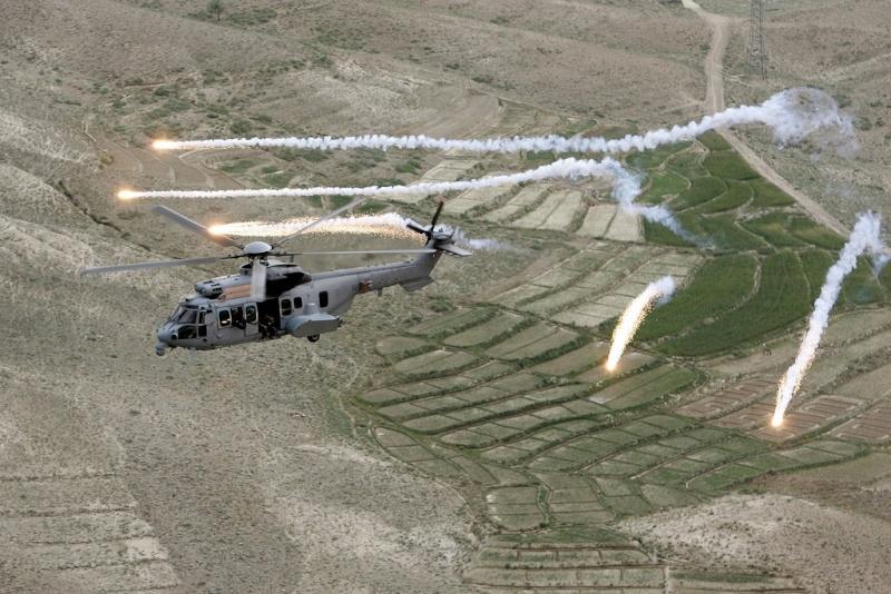 hélicoptere caracal en afganistan 29909410