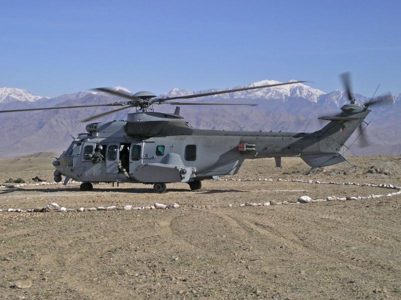 hélicoptere caracal en afganistan 30457911