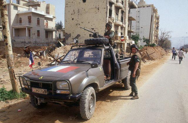 le 1er RCP au Liban et Drakkar 3810