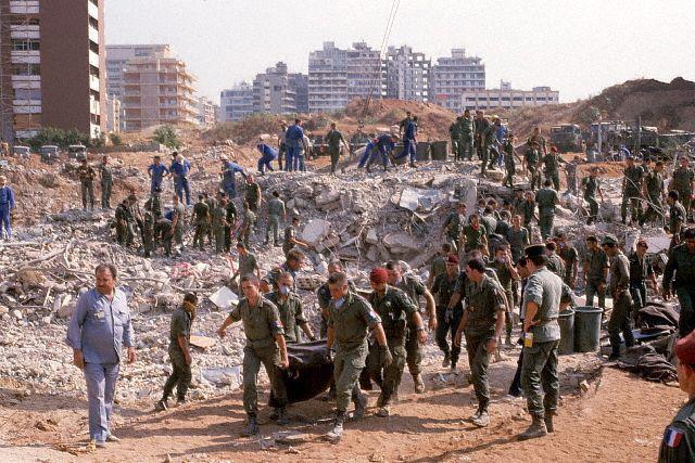 le 1er RCP au Liban et Drakkar 410