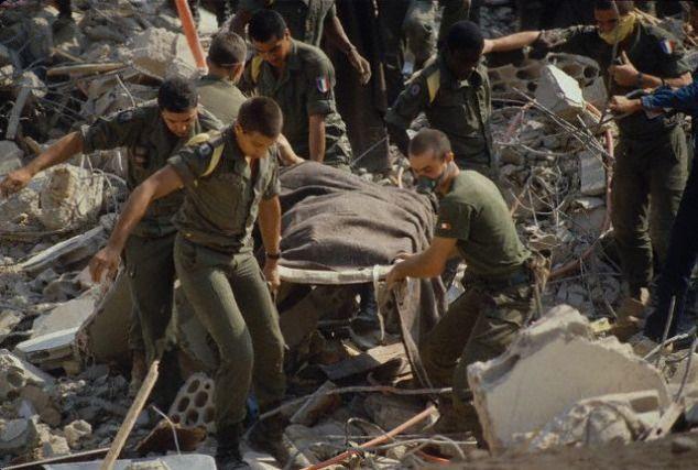 le 1er RCP au Liban et Drakkar 810