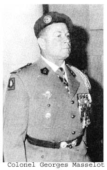 MASSELOT Georges colonel- participe avec le 18e RCP au Putsch d'avril 1961 Colone11