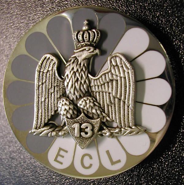 insignes du 13eme rdp Ecltyp10