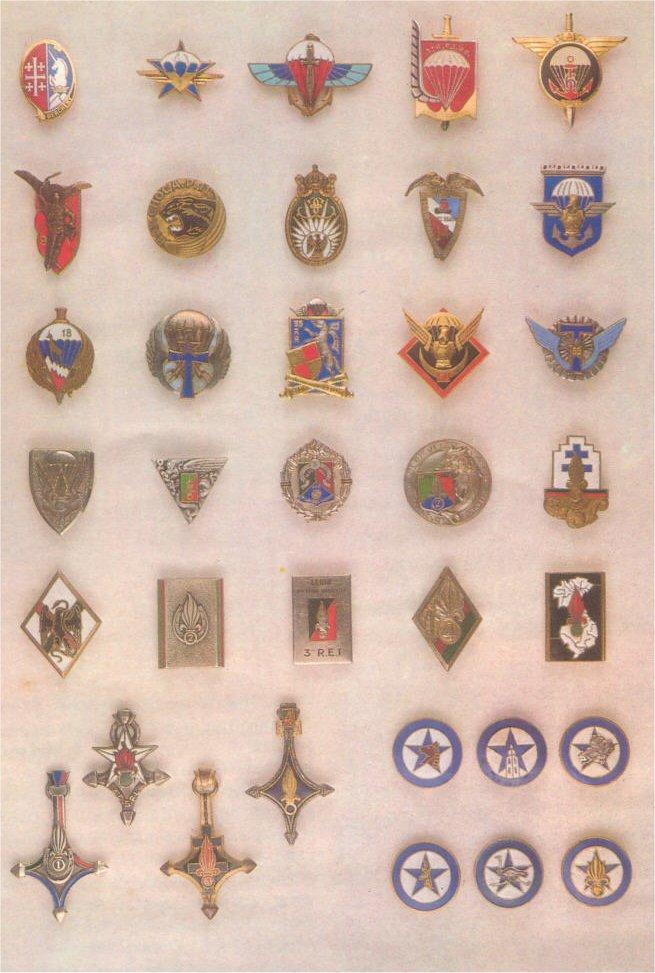 insignes de toutes les unités ayant servies en algérie Insign17