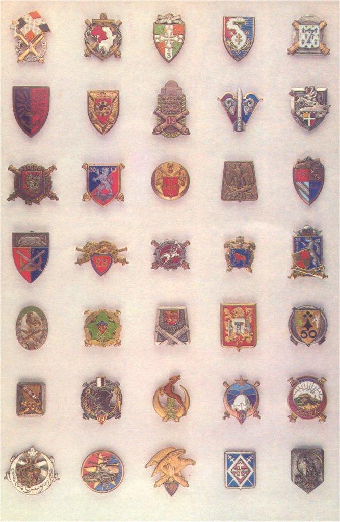 insignes de toutes les unités ayant servies en algérie Insign18
