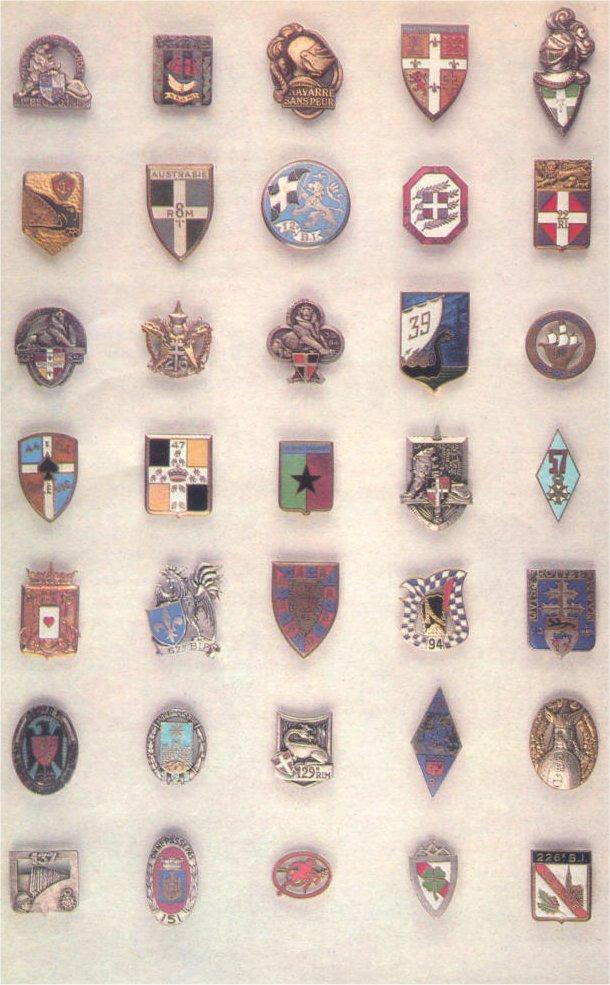 insignes de toutes les unités ayant servies en algérie Insign19