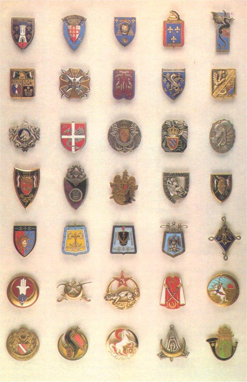 insignes de toutes les unités ayant servies en algérie Insign20