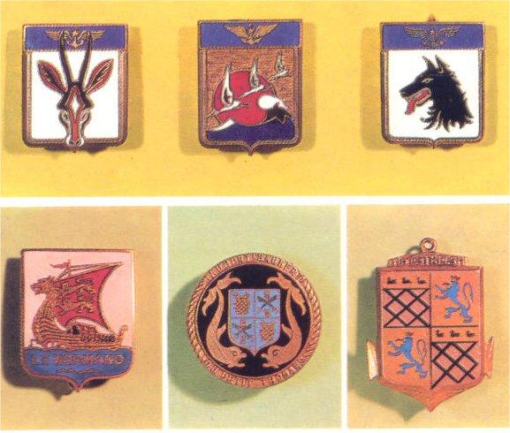 insignes de toutes les unités ayant servies en algérie Insign23