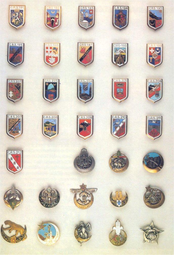 insignes de toutes les unités ayant servies en algérie Insign24